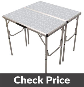 Coleman Pack Away 4 in 1 Camping Table