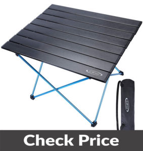 G4Free Lightweight Portable Camping Table