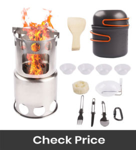 NULIPAM Camp Stove Cookware