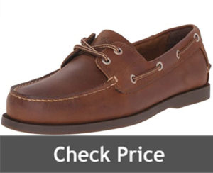 Dockers Mens Vargas Leather Handsewn Boat Shoes