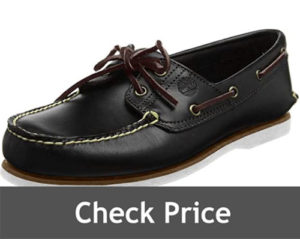 Timberland Mens Classic Two Eye Boat Shoes